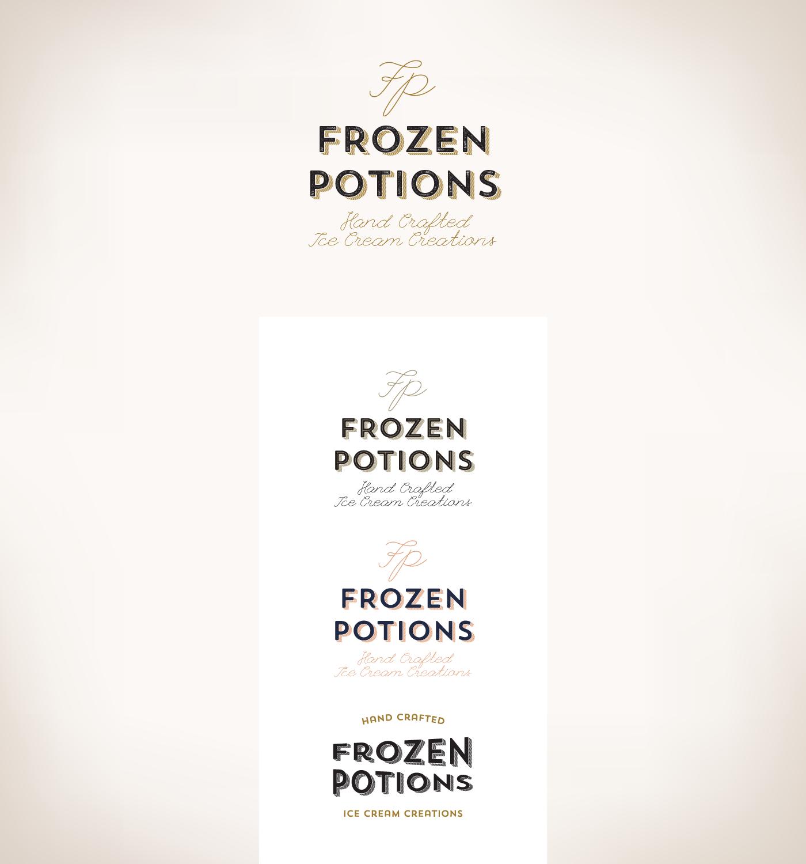 Frozen Potions on Behance