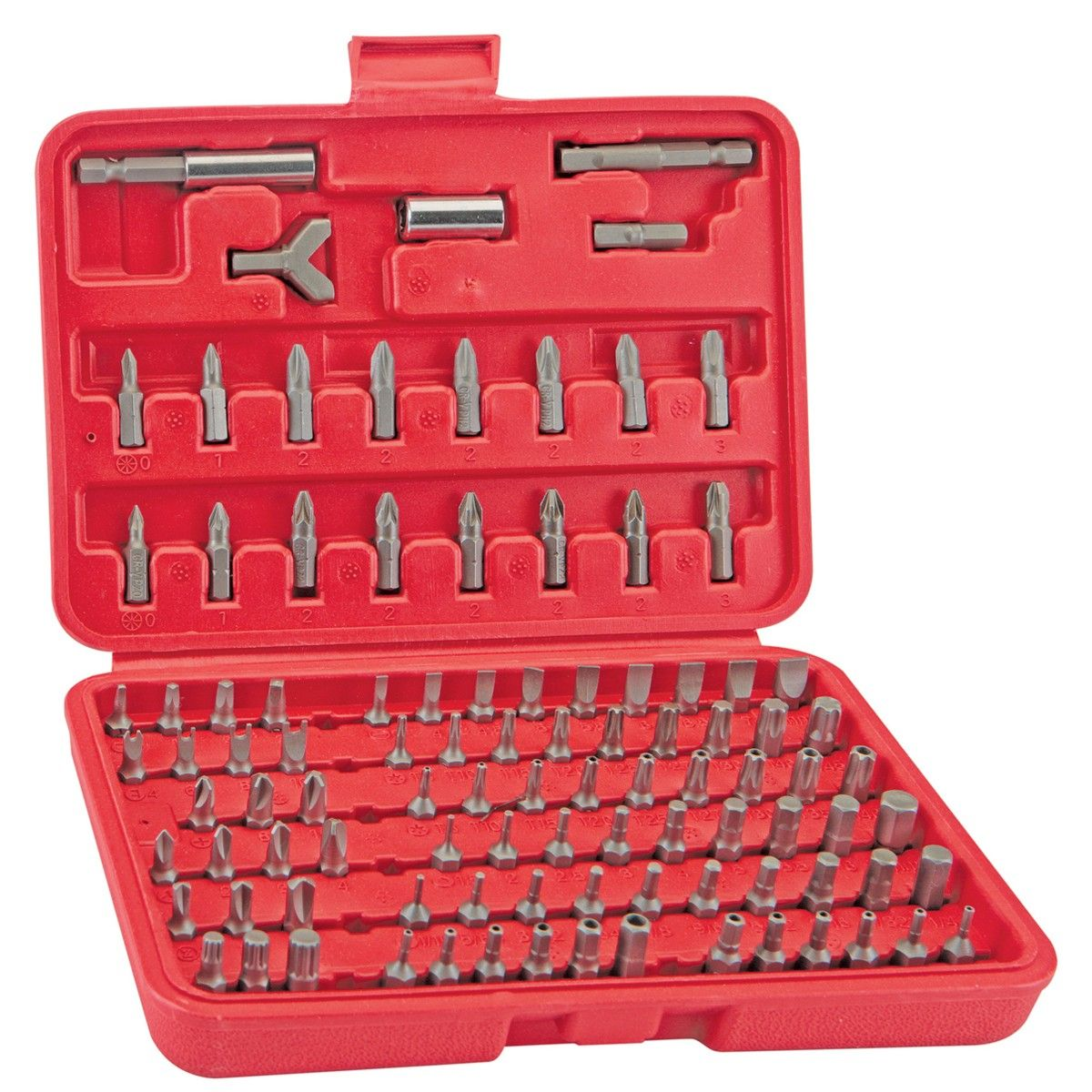 Security Bit Set With Case 100 Pc Router Bit Set Harbor Freight Tools Things To Sell