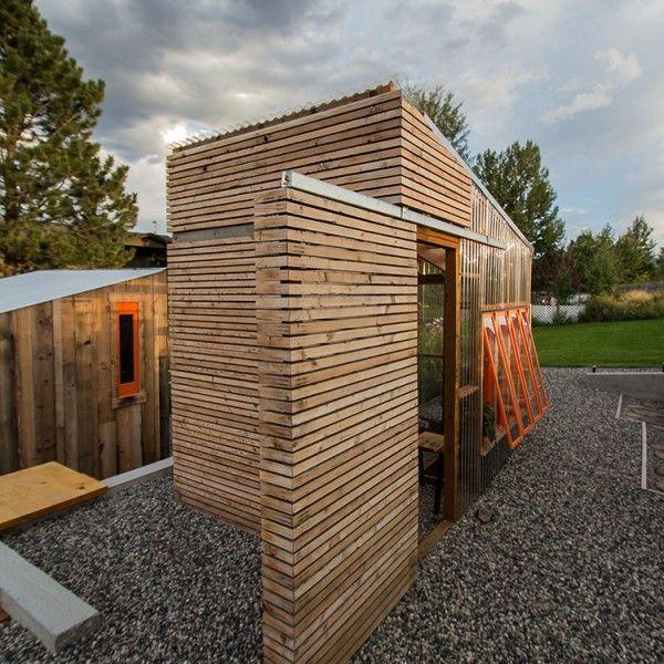 Gartengestaltung holz pavillon garten architektur - Gartenpavillon modern ...