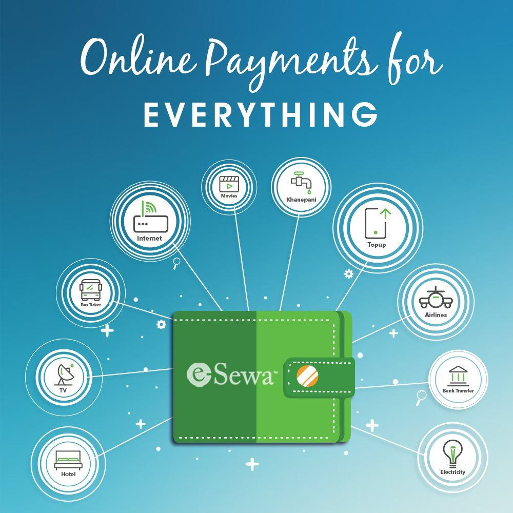 Esewa Is An Online Payment Gateway That Helps In Utility Bill