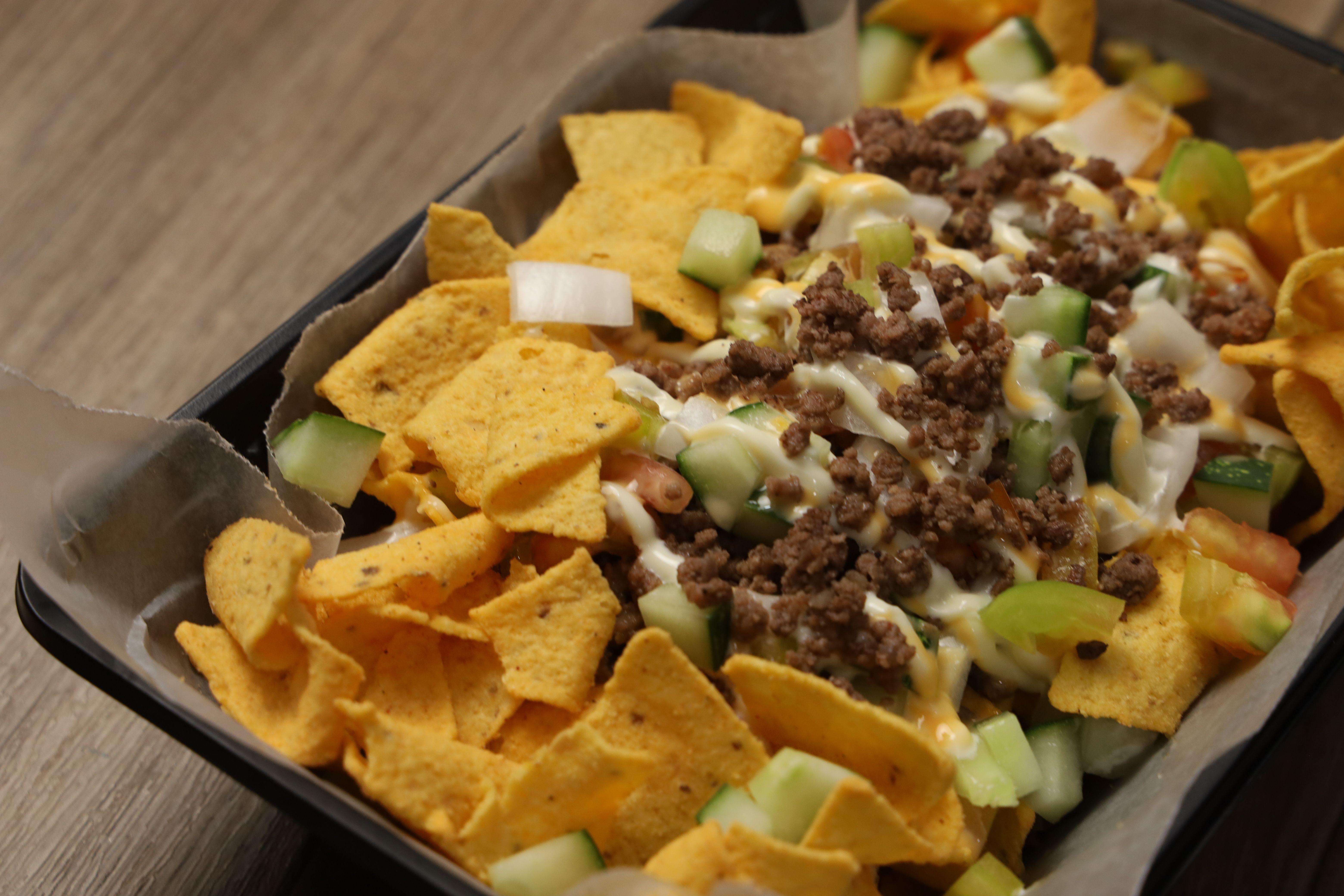 Mr Chips Beef Nachos Chipped Beef Nachos Beef Nachos Recipe