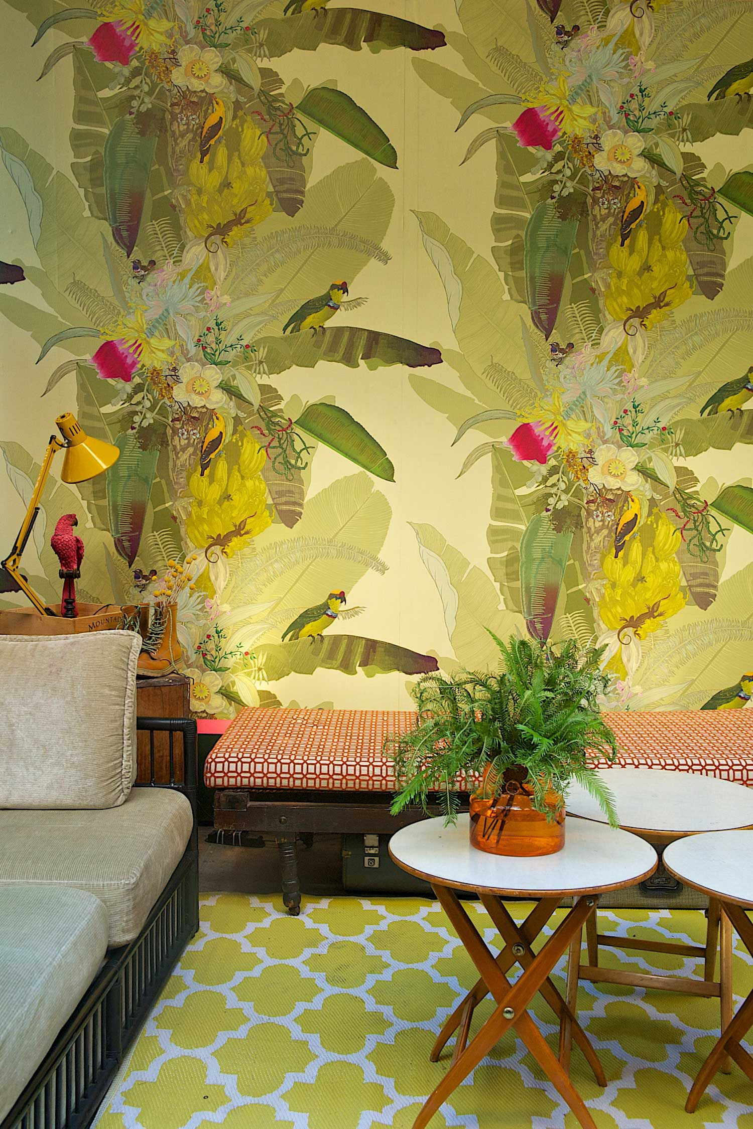 Gumtree Garden Pop-Up Bar by Yellowtrace.   Palm springs, Palm and Bar