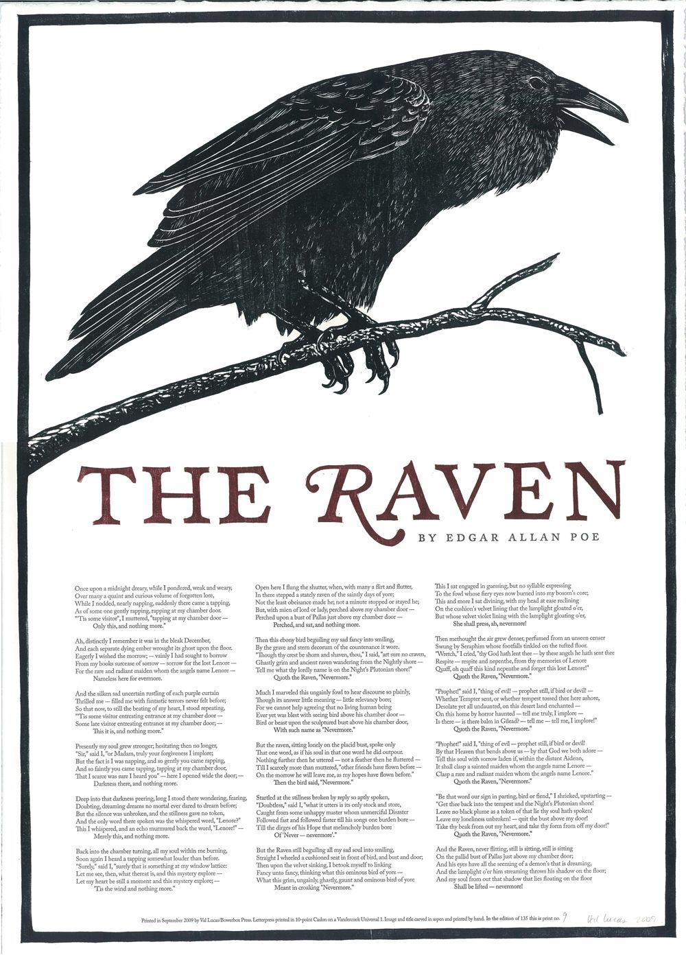 raven drawings universal 1 the entire text of the poem the 1845 the raven is published edgar allan poe s famous poem the raven beginning once upon a midnight dreary is published on this day in the