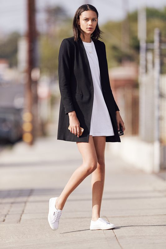 Supermodel Leona 'Binx' Walton in the Superga Autumn/Winter '15 Campaign.