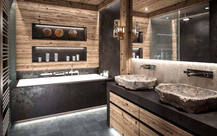 Luxury ski chalet offering mesmerizing views over the Matterhorn ...