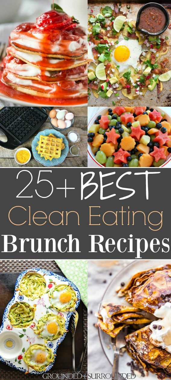 the 25 best clean eating brunch recipes clean food recipes rh pinterest com au