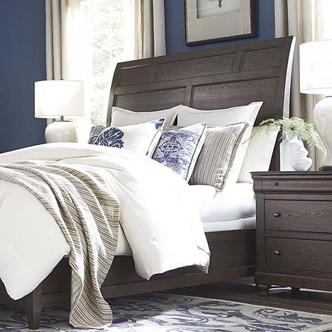 provence sleigh bed by bassett furniture the provence collection rh pinterest com