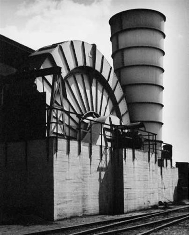 Werner Mantz (German, 1901–1983) Förderturm (+ Mahlwerk; 2 works) , 1937