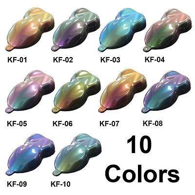 Chameleon Paint One Full Quart Of Unreduced Flip Flop Paint 10 Color Options Custom Cars Paint Custom Cars Color Changing Paint