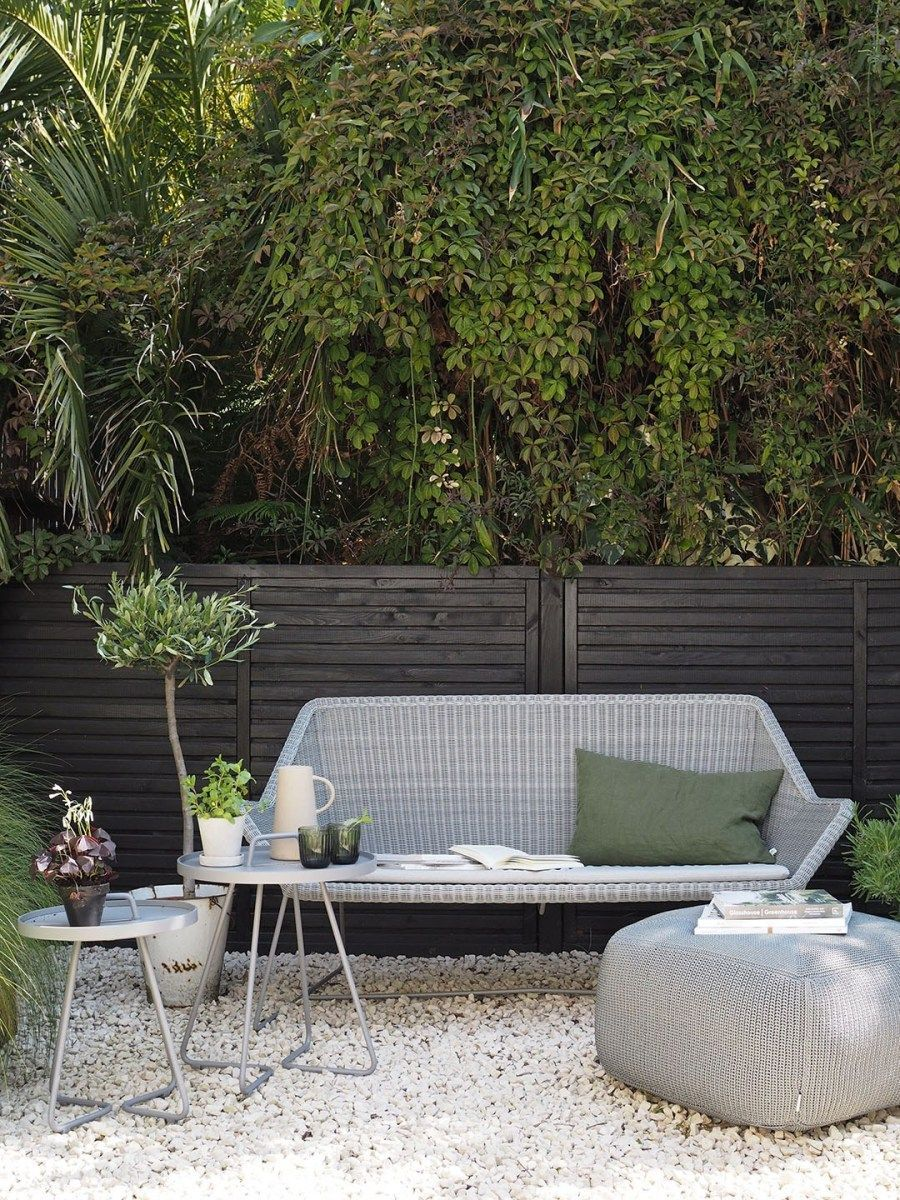 Ad An Urban Oasis With Minimalist Outdoor Furniture By Cane Line