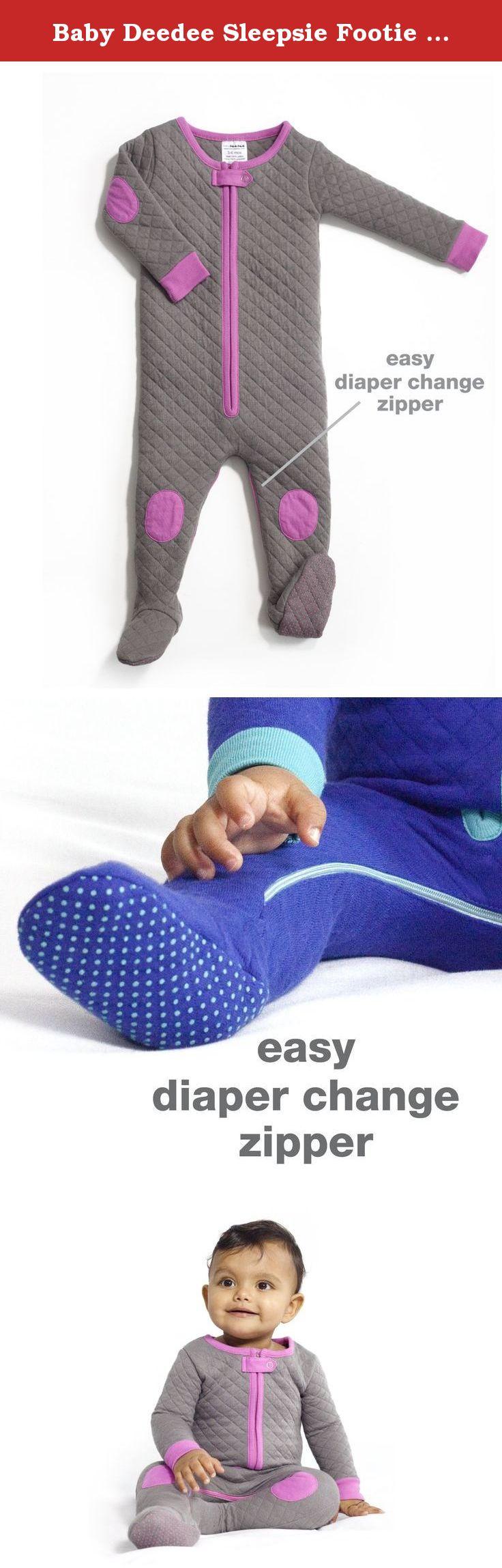 70532ba4cc0 Baby Deedee Sleepsie Footie Pajamas