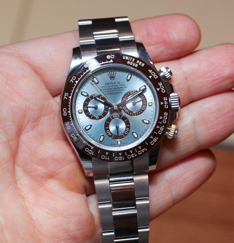 Rolex Daytona Platinum 116506 Hands-On: An Homage To Paul