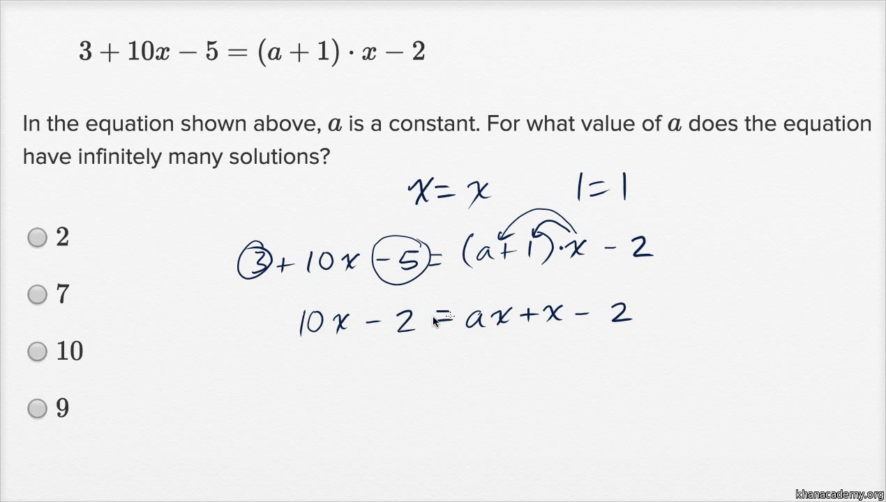 Solving Linear Equations And Linear Inequalities Harder Example