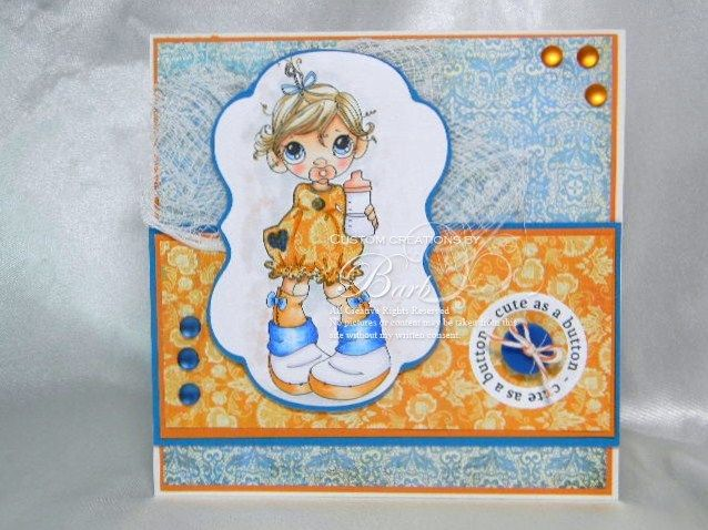 Baby love card for ABC Challenges