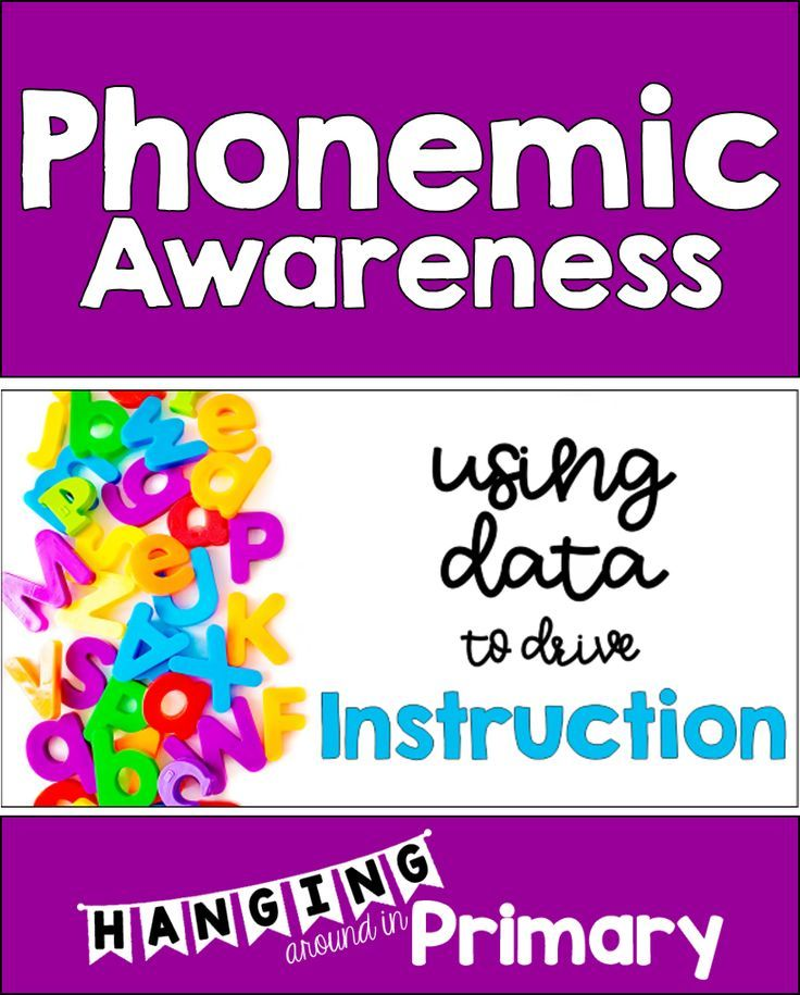 Use Data To Inform Your Phonemic Awareness Instruction And Learn