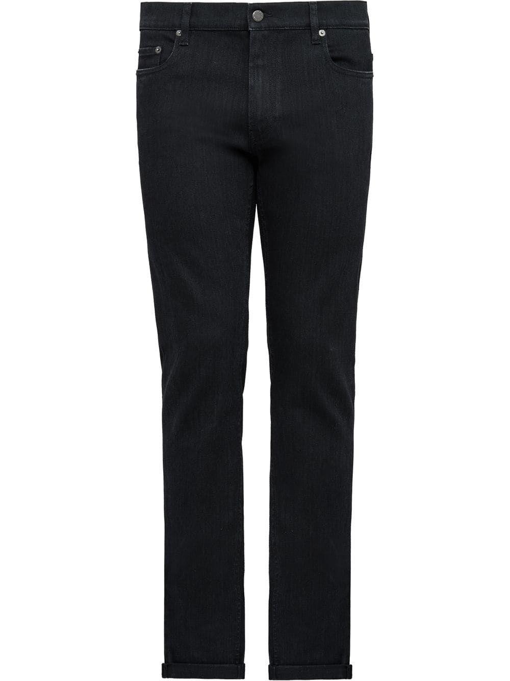 4d110ec9385 PRADA PRADA CLASSIC SKINNY-FIT JEANS - BLACK.  prada  cloth