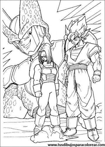 De Dragon Ball Z Para Colorear Imagen 64 Para Colorear Dragon Ball Artwork Dragon Ball Super Art Dragon Ball