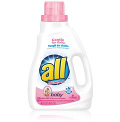 All Baby Liquid Laundry Detergent Bottle Laundry Detergent
