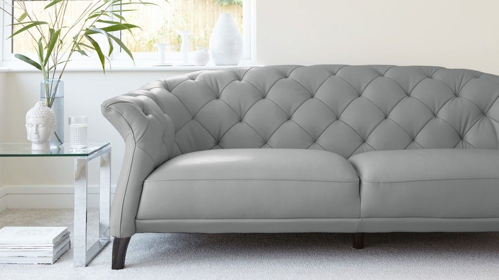 42++ Grey leather chesterfield sofa inspirations