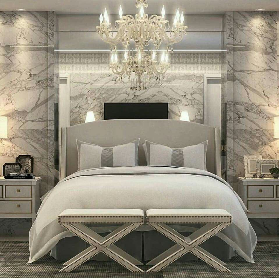 Romantic Bedrooms Beautiful Bedrooms Bedroom Chandeliers Interior