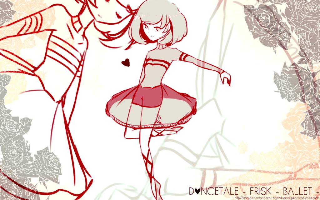 Dancetale - FRISK by Kiacii