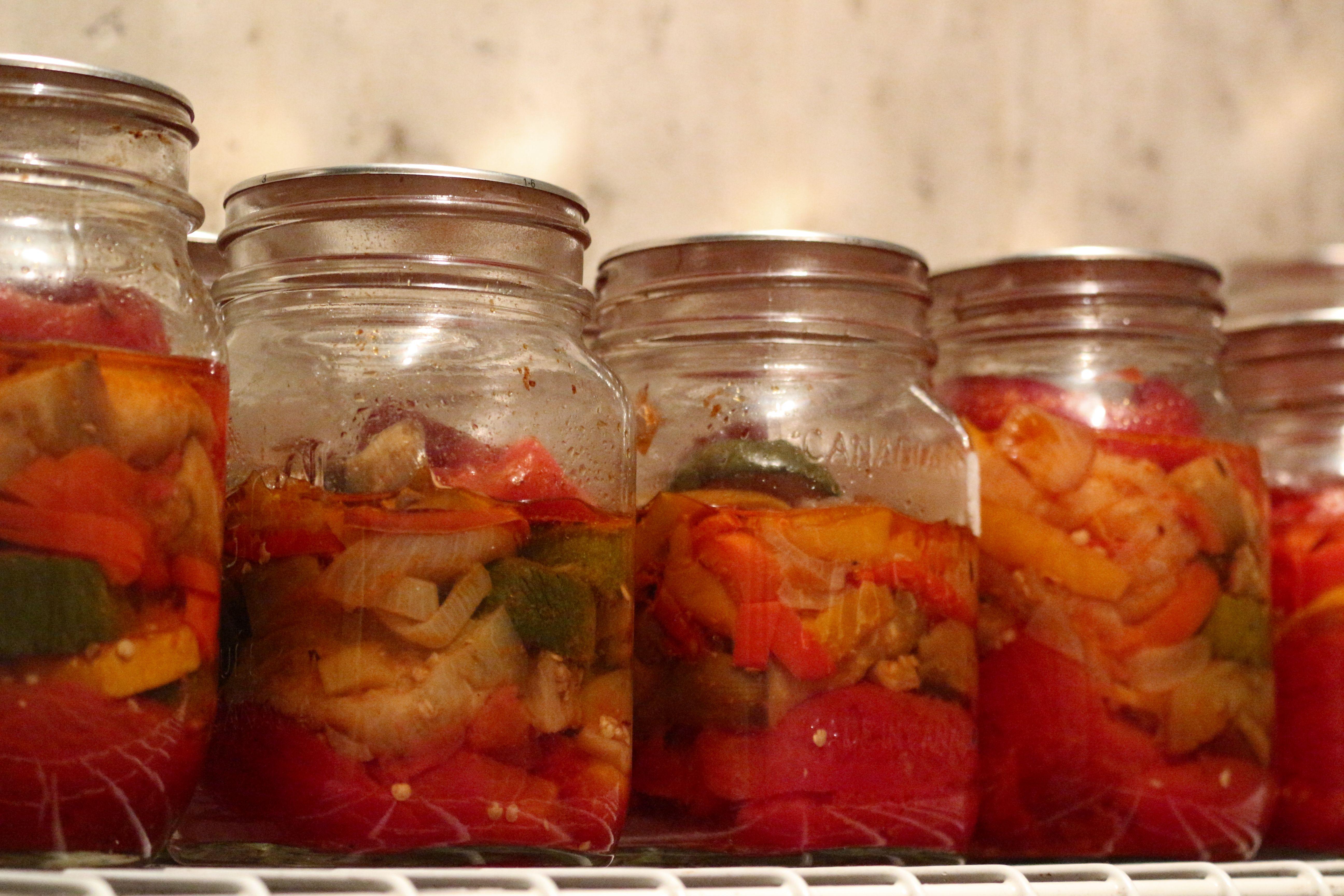 Ratatouille en conserve la cuisine de michel conserves conserve ratatouille ratatouille - Sterilisation plats cuisines bocaux ...