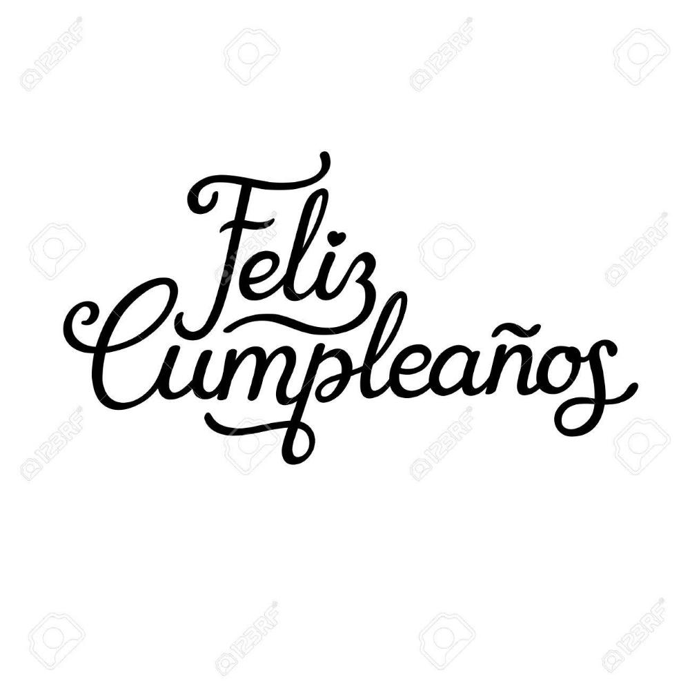 La letra de feliz cumpleanos en espanol