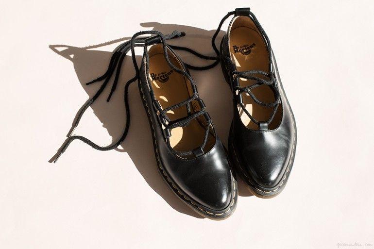the lace ups doc martens appartements et chaussures de. Black Bedroom Furniture Sets. Home Design Ideas