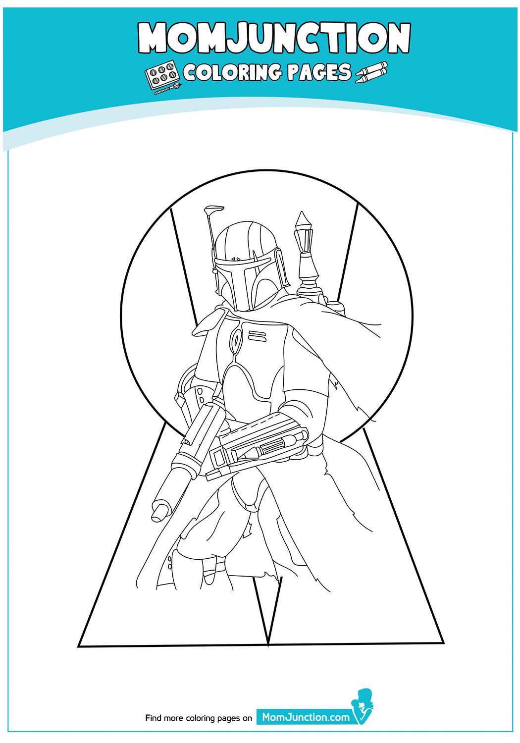 TheRiseOfBoba17 Coloring pages, Boba fett, Toddler