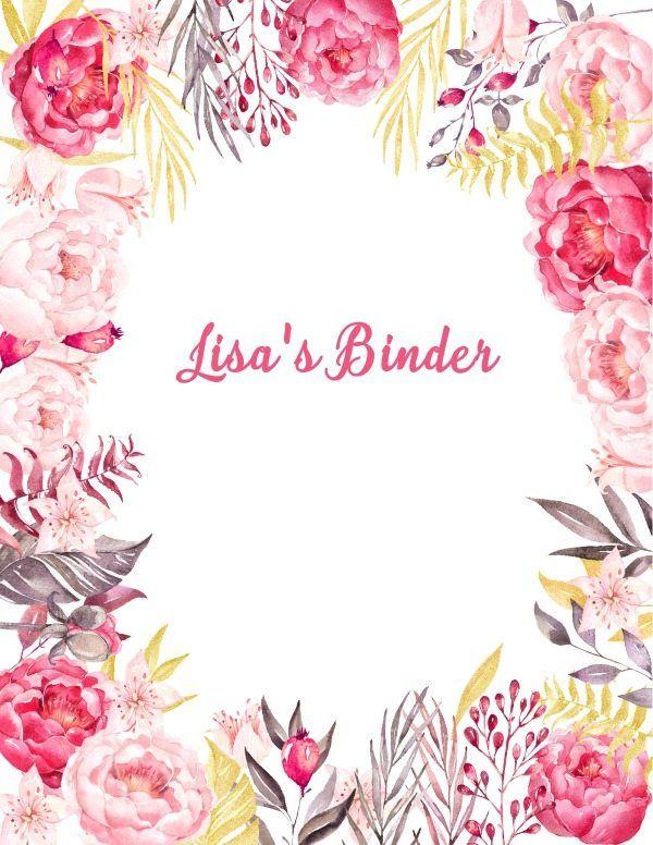 Binder Covers Binder Cover Templates Binder Covers Printable