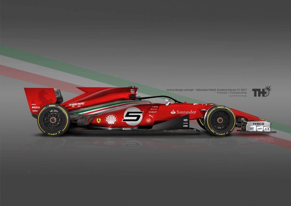 Formula 1 Grand Prix F1 Ferrari Cars