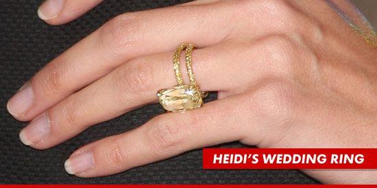 favorite ever wedding ring setHeidi Klums rings Anniversary