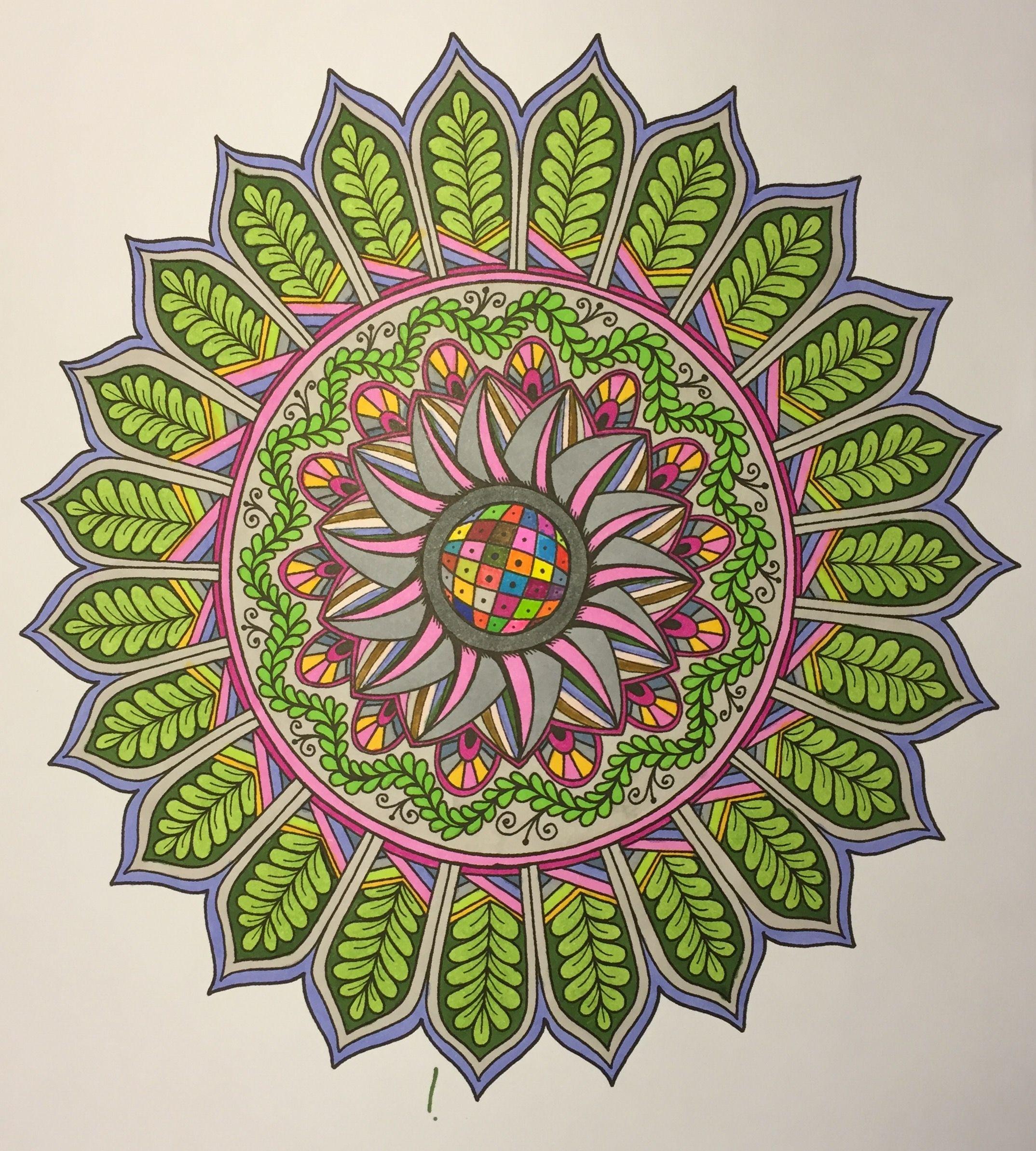 Zendoodle coloring enchanting gardens - Adult Coloring Zentangle Artsy Fartsy Doodle Mandalas