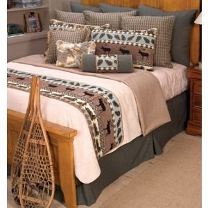 Nordic Coverlet Set - Queen  from Black Forest Decor