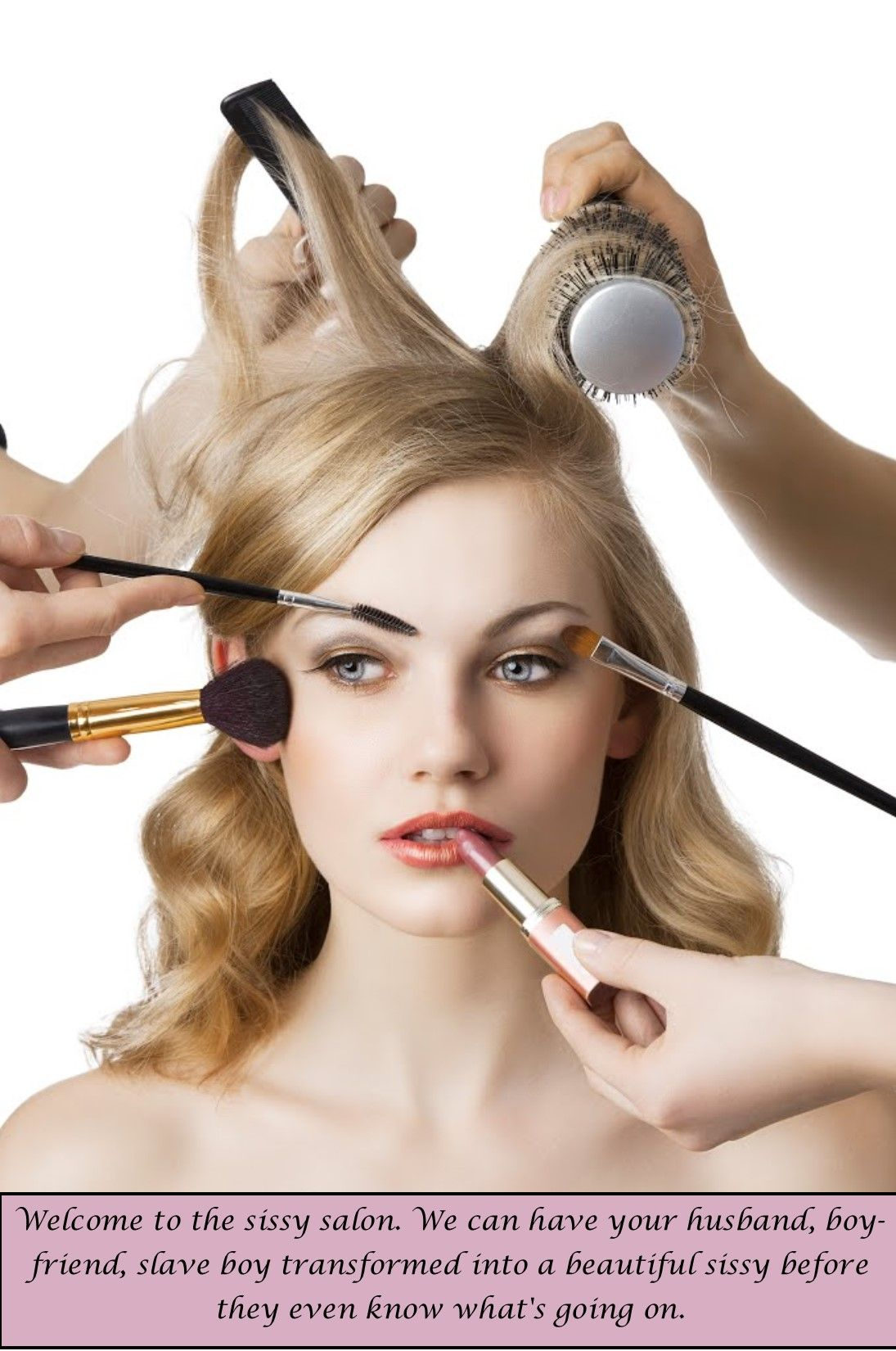 Sissy Salon Tg Caps Beauty Cosmetology Professional