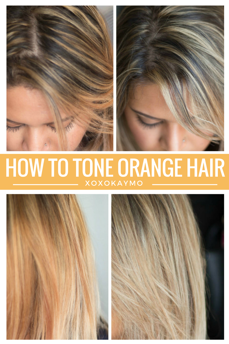 How To Tone Bry Hair At Home Wella T14 And T18 This Is An Inexpensive Easy Way Remove Any Orange Yellow Tones Get That