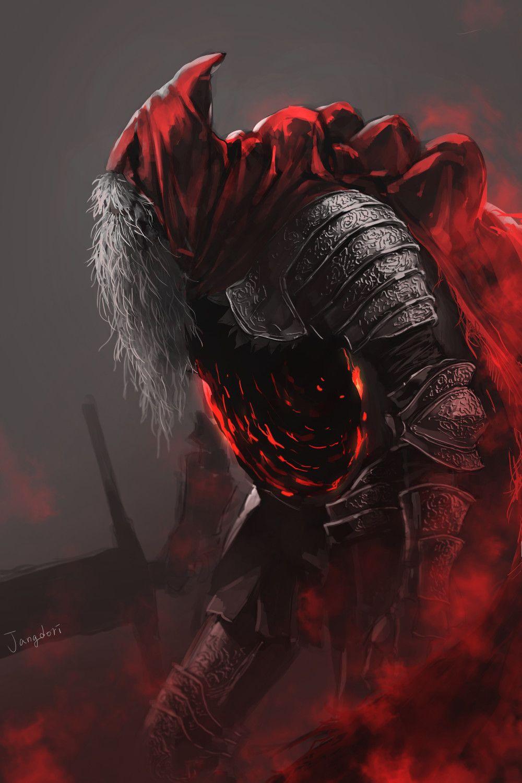DARK SOULS Fan Art - Slave Knight Gael, hannah Ji / Jdori
