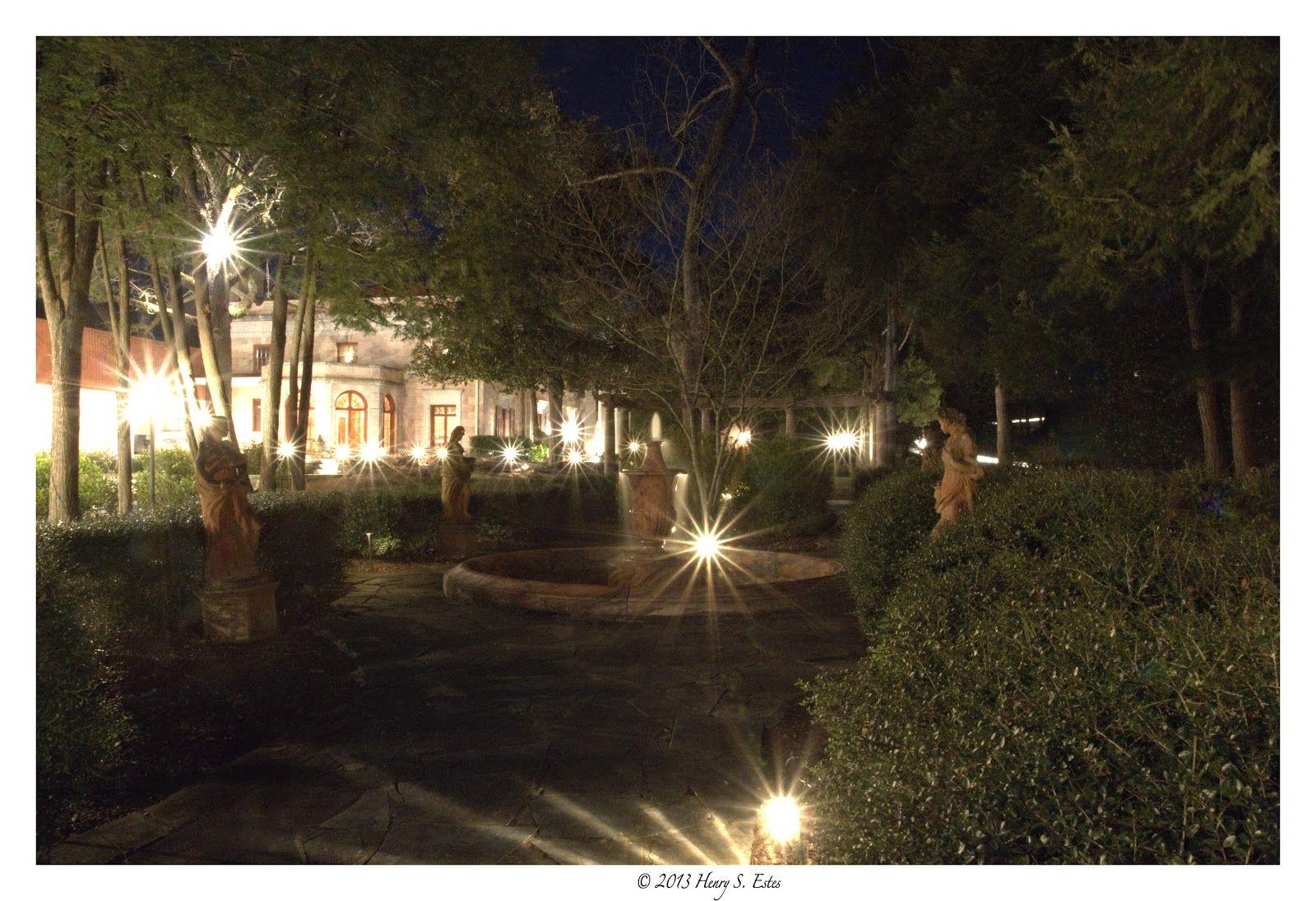 The gardens of the Tate House, a North Georgia wedding venue, invite ...