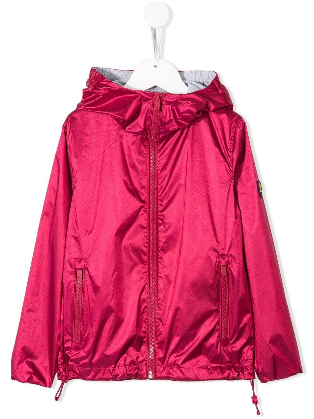 new concept e4f12 b89c2 Ciesse Piumini Junior hooded zip rain jacket - Pink ...