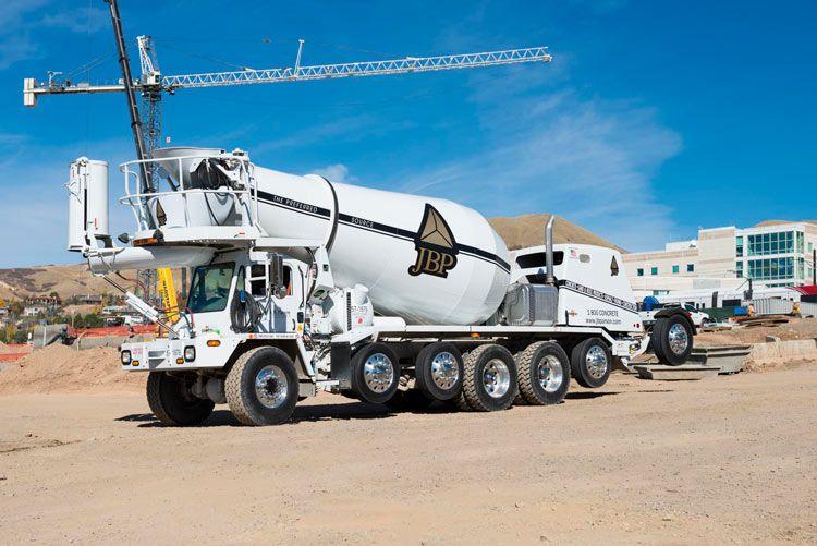 Oshkosh mixer | Ready-Mix Trucks | Cement mixer truck, Mixer truck