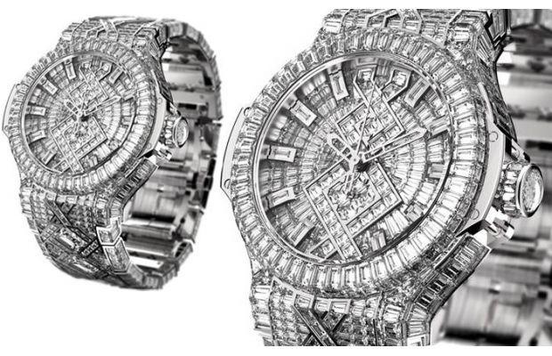 $5 Million Hublot Big Bang Watch   SWAG AINT CHEAP   Watches, Rolex  watches, Watch one