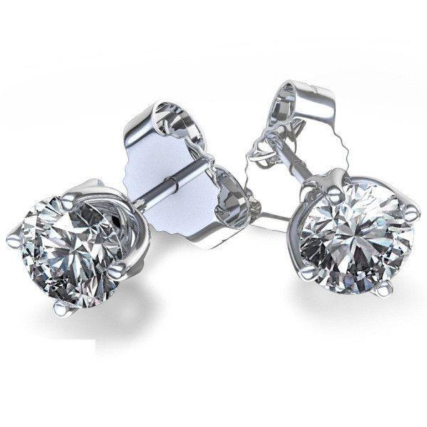 The Brighter Diamond Stud Earrings\  Price : $224 Only Style No                :  E1468 Metal Karat          :  10KT Diamond Weight :  0.10 CTS Diamond Type      : Round – Diamond Diamond Color     :  I-J Diamond Clarity   :  SI1 Diamond Pcs   :  2