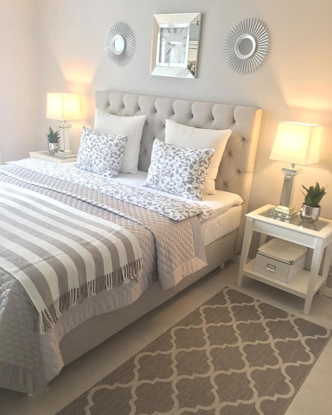 14 1 K Gilla Markeringar 57 Kommentarer Decor Interior Rooms Hem Inspiration Pa Insta Beautiful Bedroom Decor Small Master Bedroom Bedroom Decor