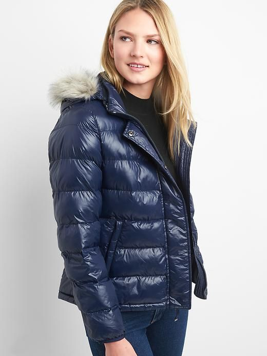 63176c9ddb69 Gap Womens Coldcontrol Max Puffer Jacket Dark Night | Products ...