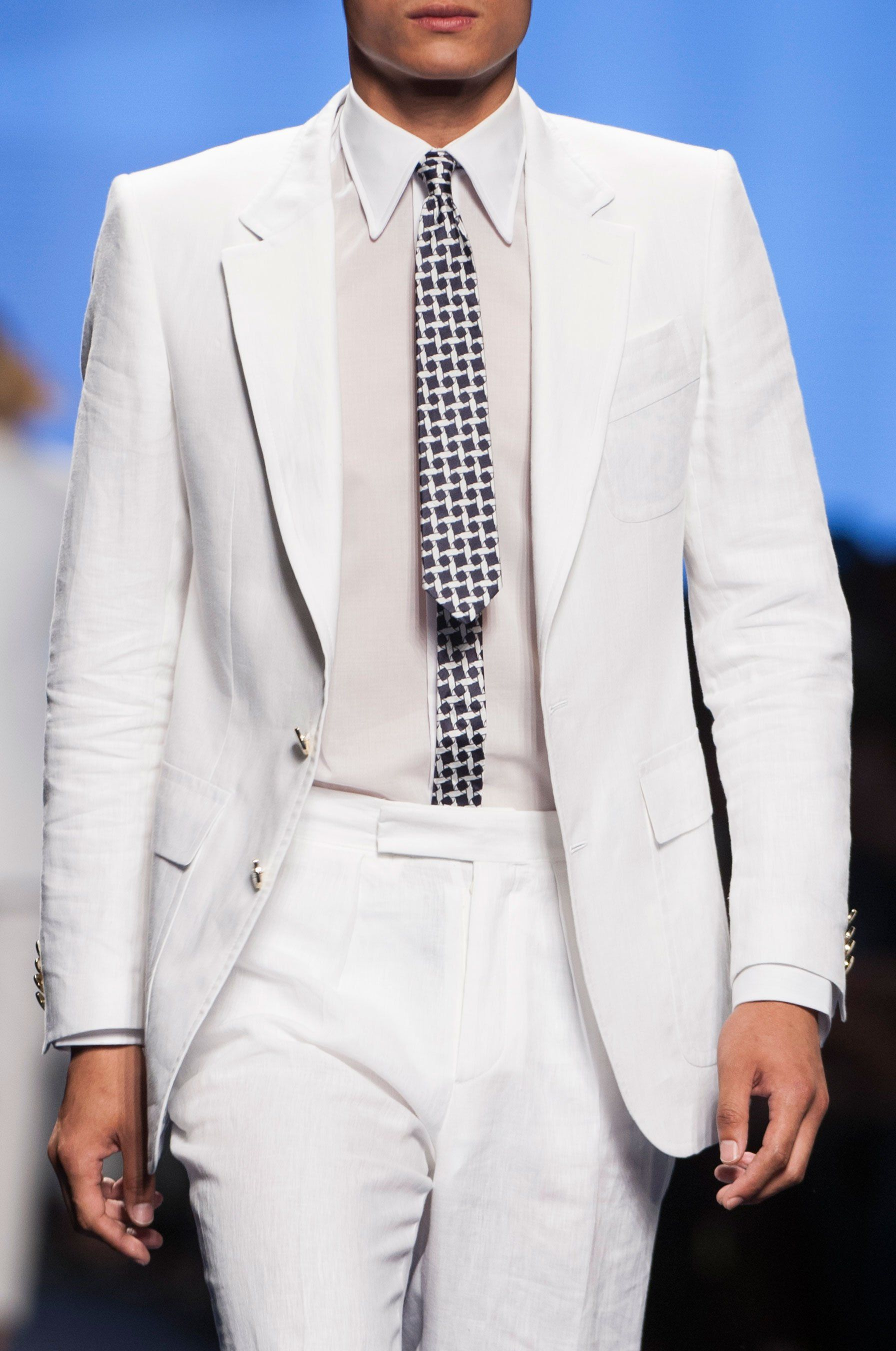 Etro Spring 2015 Menswear He Needs To Fix His Tie That Look Is