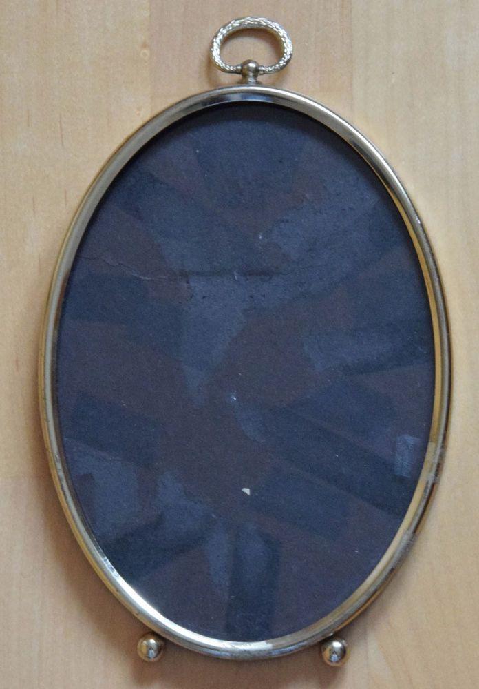 Details zu Alter Vintage Fotorahmen Bilderrahmen Metallrahmen Rahmen ...