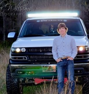 Senior Guy Session With Truck Senior Pictures Truck Senior