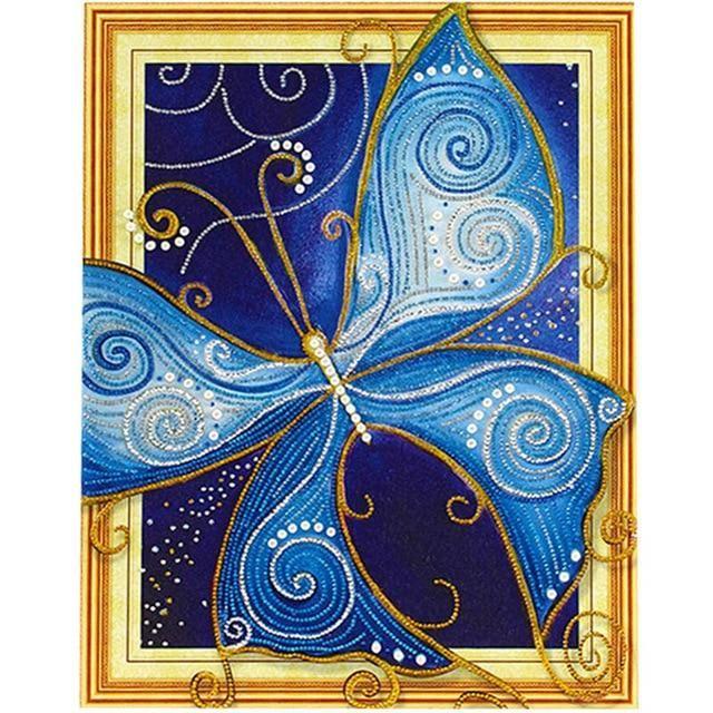 Meian Diamond Painting Wolf 5d Diy Drill Diamond Embroidery Diamond
