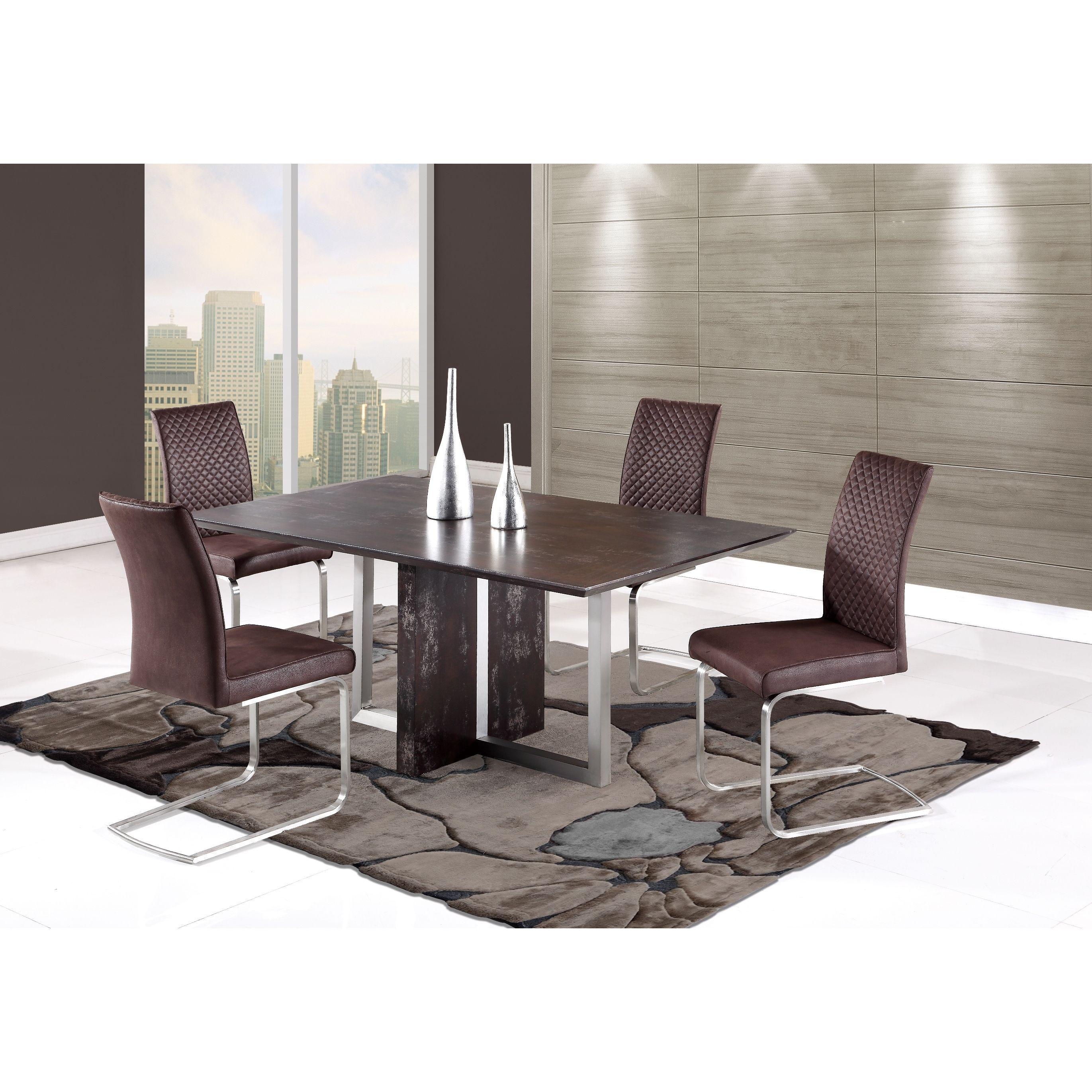 Global furniture antiqued dining table dining table antique d