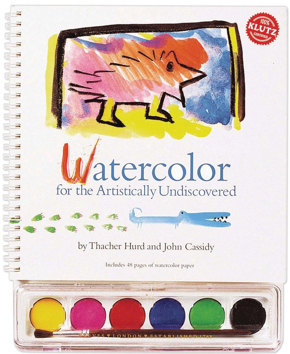 Watercolor books for kids - Watercolor For The Artistically Undiscovered Book Kit K2744 19 95